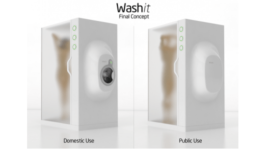 Washit washit-laundry-shower-concept