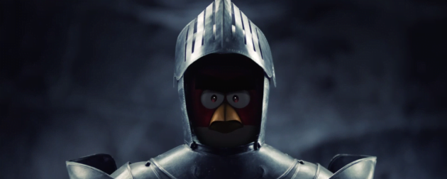 Agry Birds, cavaleri in Evul Mediu