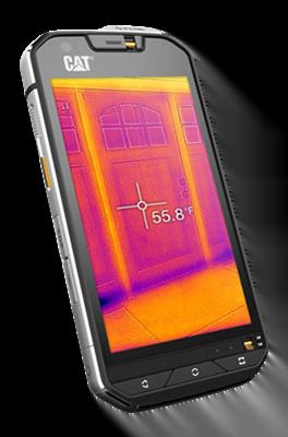 Cat S60,  primul smartphone din lume cu cameră termică integrată