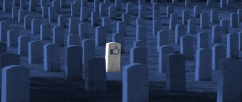 facebook, cimitir virtual