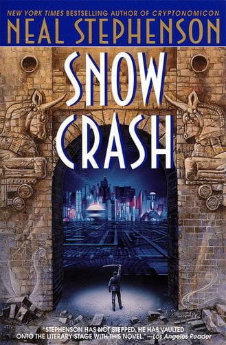 science fiction Snow-Crash-by-Stephenson06-thumb-330x502-90877