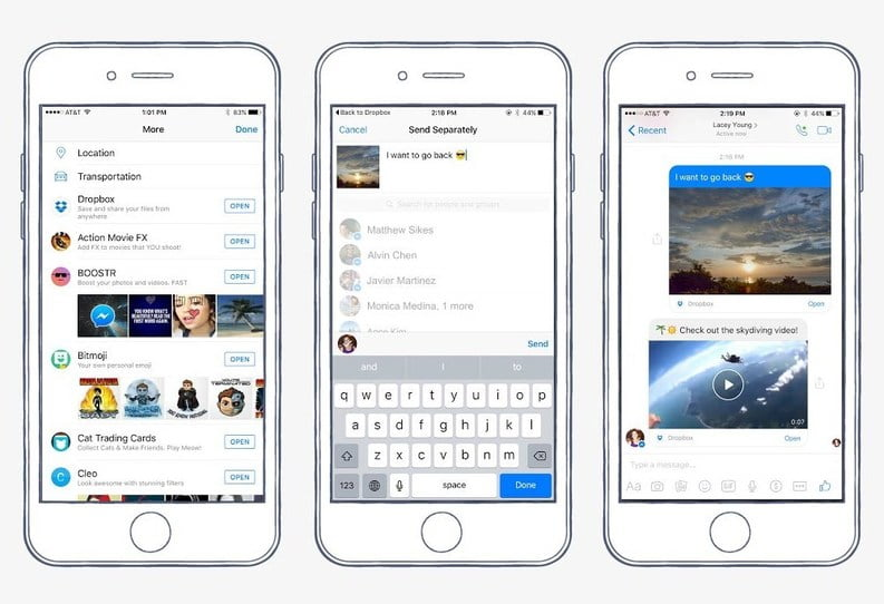 Dropbox facebook-messenger-dropbox