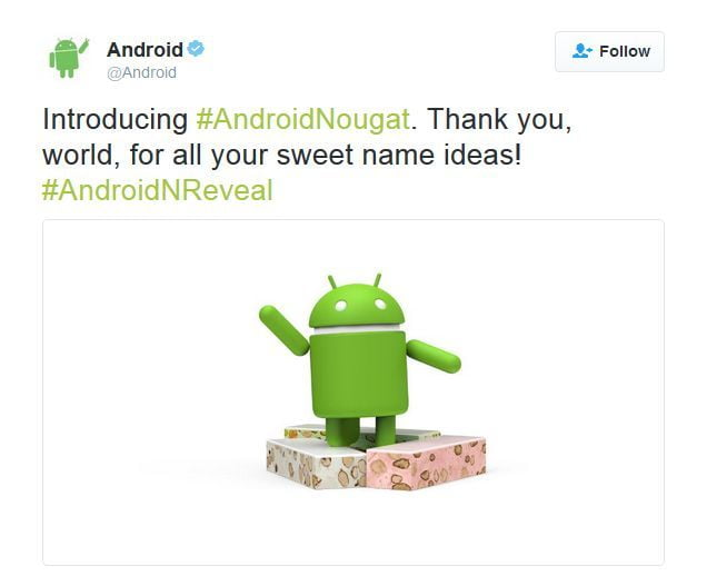 Android Nougat Android-Nougat-Google