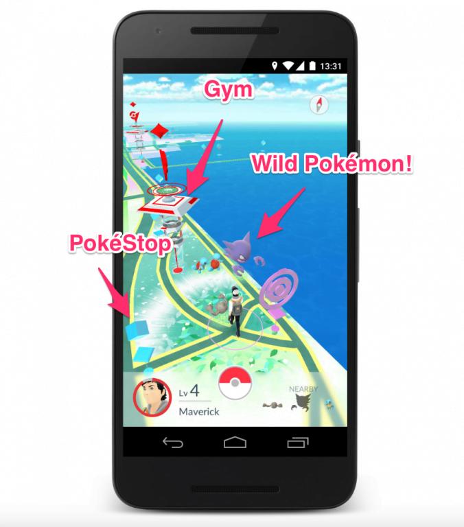 Cum se joaca Pokemon Go Cum-se-joaca-Pokemon-Go-Jocul-care-a-înebunit-planeta-2