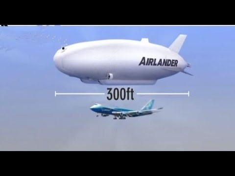 Hybrid Air Vehicles lansează Airlander 10