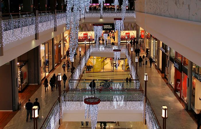 efectul gruen Istoria-mall-urilor