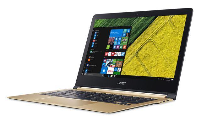 Primele imagini video cu Acer Swift 7, cel mai subțire notebook din lume