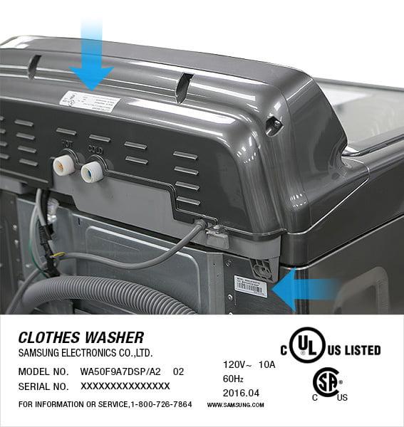 maşinile de spălat Samsung serial-number_02