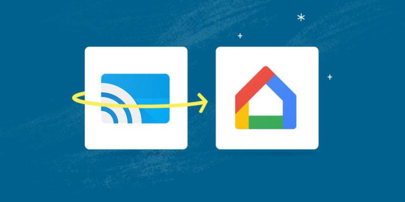 Google Cast devine Google Home