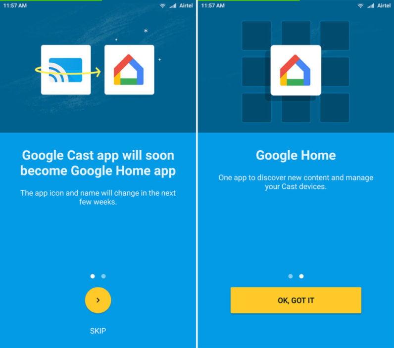 Google Cast devine Google Home. Încă un pas spre casa inteligentă