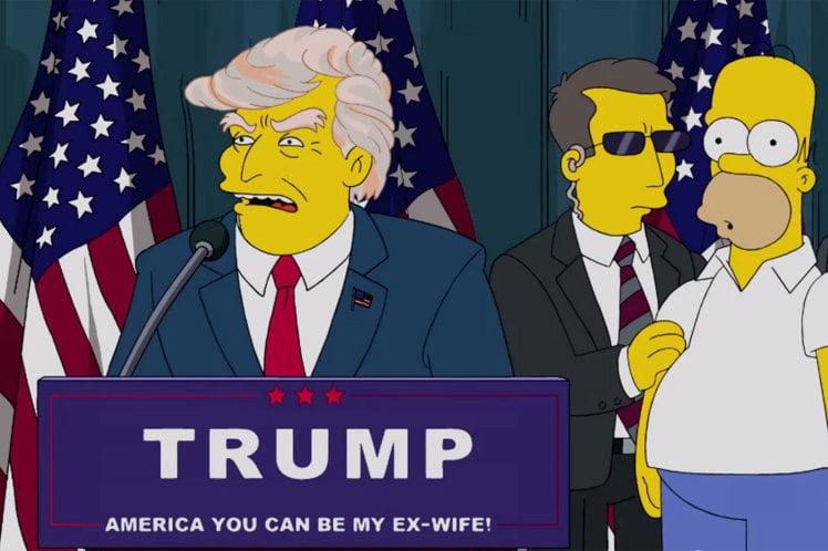 simpsons a prezis alegerea lui trump The-Simpsons-donald-trump