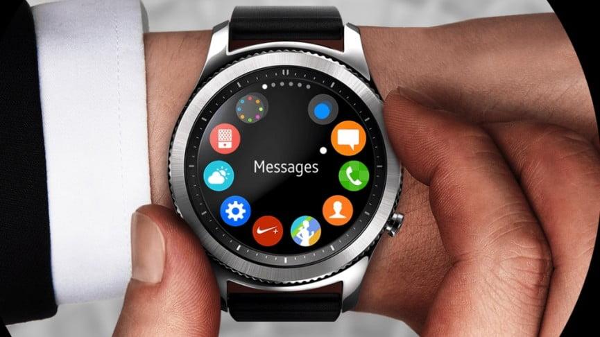 Samsung promovează spectaculosul smartwatch Gear S3