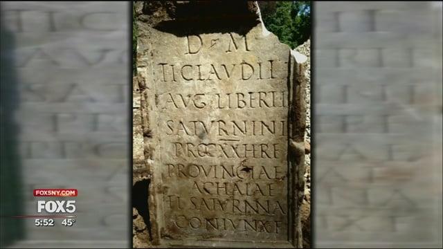 Ce au căutat romanii în America?! Mormânt de acum 2000 de ani, descoperit în New York