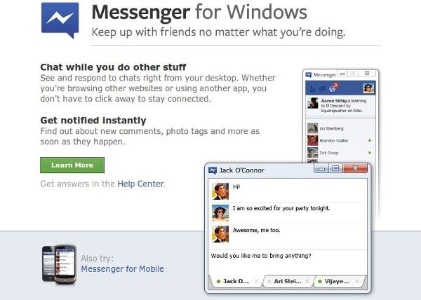 FB-Messenger-Windows
