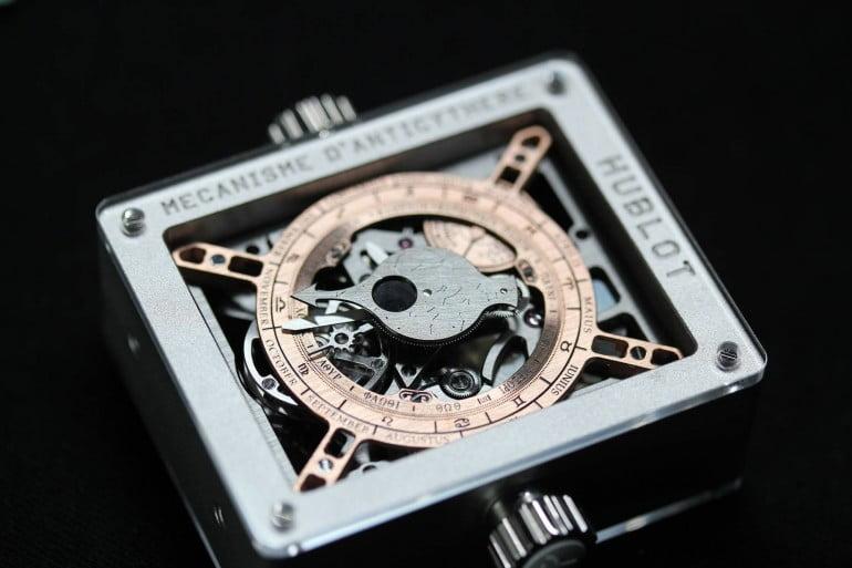 Ceasul lui Sulla. Hublot prezinta o tehnologie de acum 2000 ani