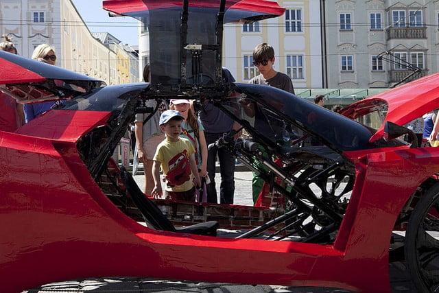 quad-cycle fahrradifarfallaffx-4