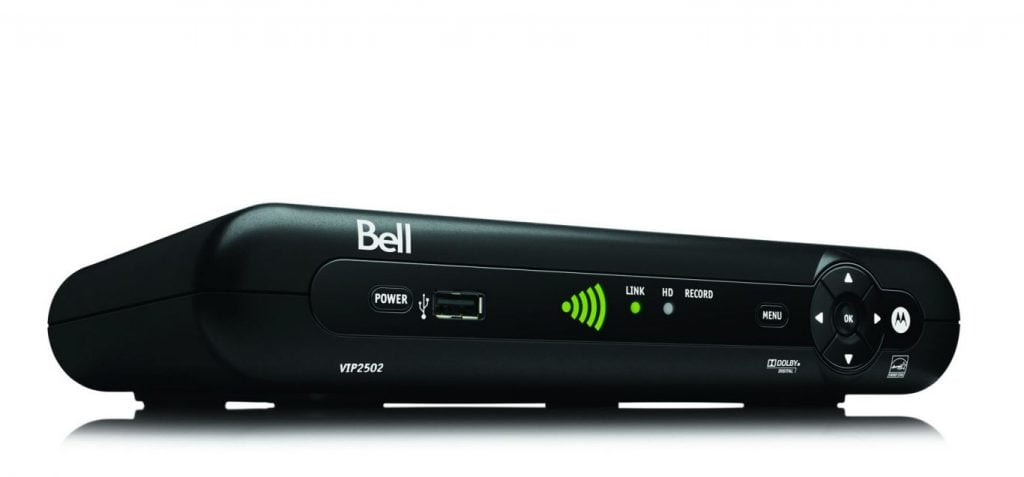 BELL CANADA - Bell launches Canada's first wireless TV receiver