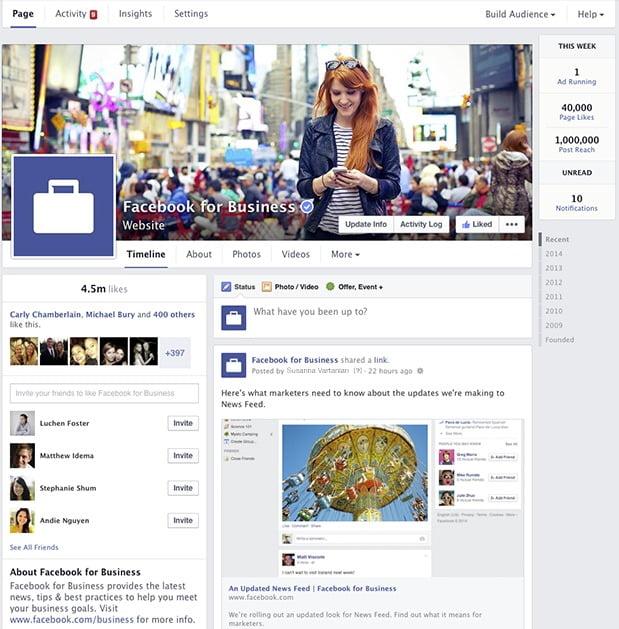 facebook-pagina-noua