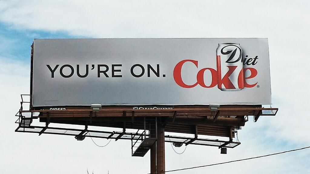 you're on coke