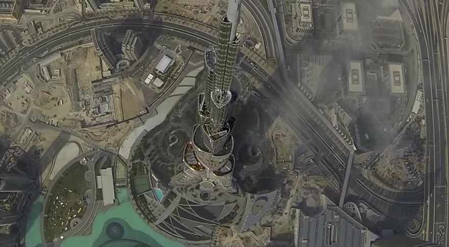 Dubai-ul, filmat dintr-o drona