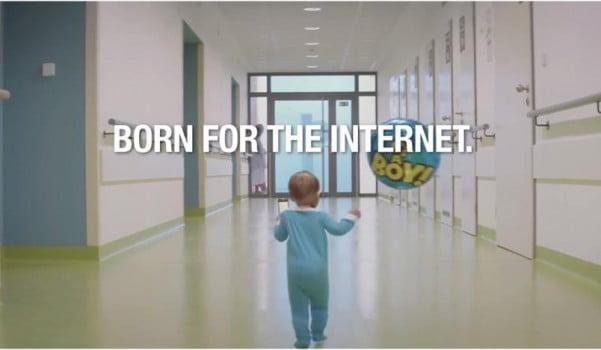 reclama-internet-bebe