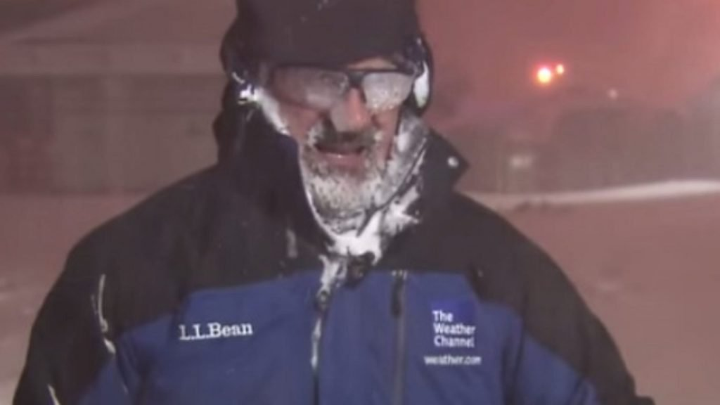 Cantore Thundersnow Montage!