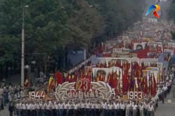 demonstratie color ceausescu