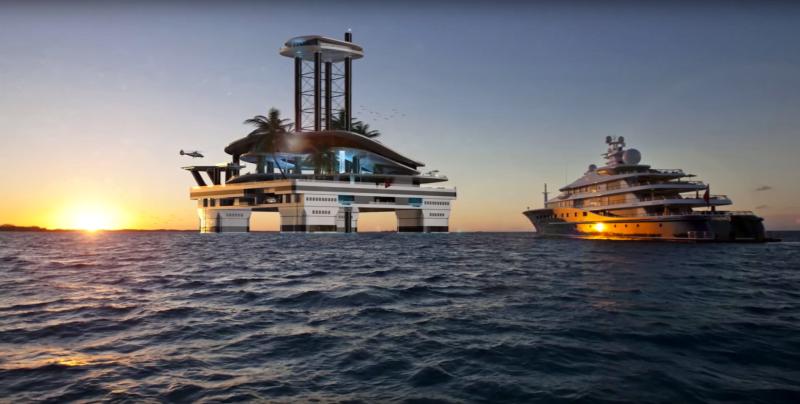Kokomo Ailand. Cel mai spectaculos yaht din lume (VIDEO)