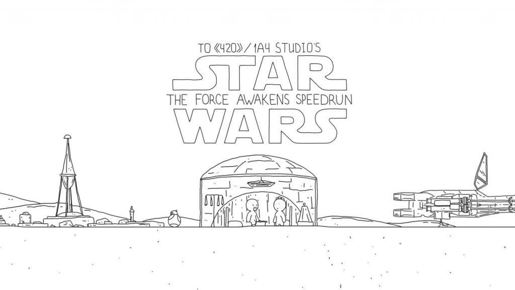 Star Wars: The Force Awakens, într-un clip genial de 1 minut