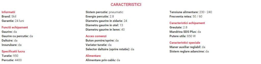 bormasina CIOCAN-ROTOPERCUTOR