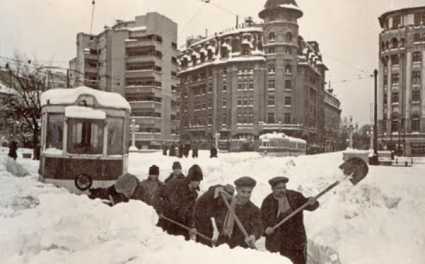 Cum era tratat subiectul iarnă în jurnalul de ştiri în 1969