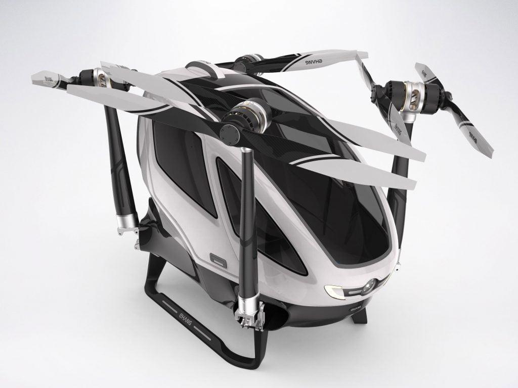 EHang 184, prima dronă din lume cu care poţi să călătoreşti 3