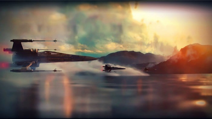 efectele speciale din Star Wars