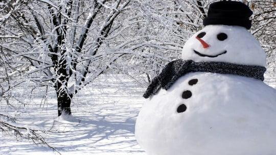 Cum să construieşti un om de zăpadă. Există o formulă ştiinţifică!