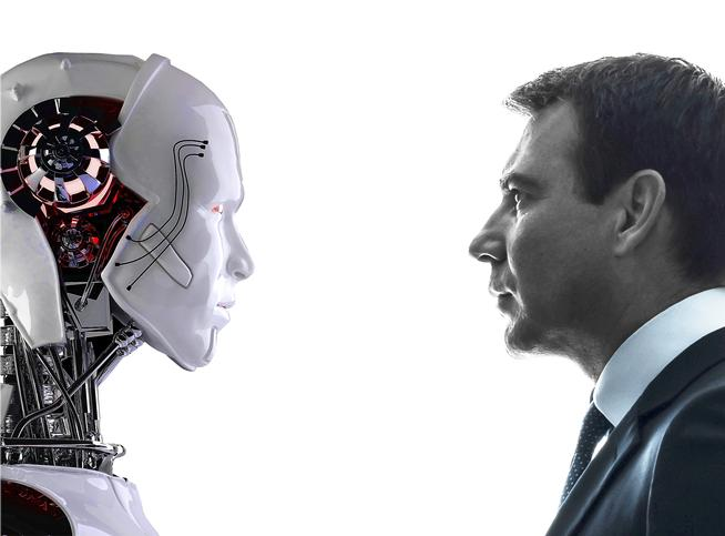 Mâna robotică oameni-si-roboti