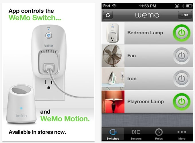 Bitdefender WeMo-Switch