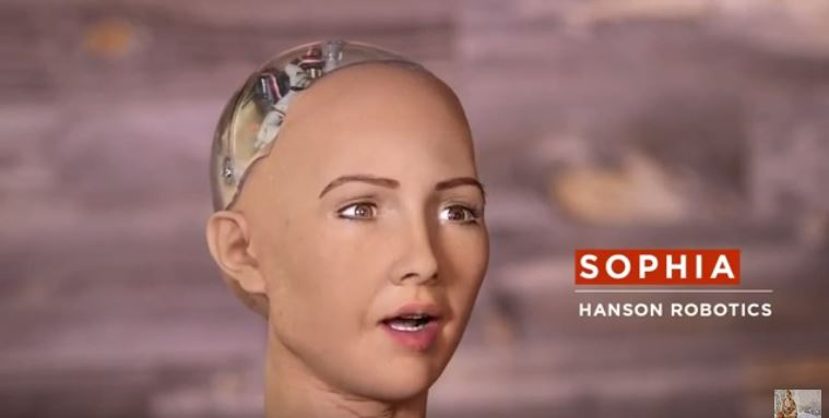 Robotul Sophia sophia-hanson-robotics