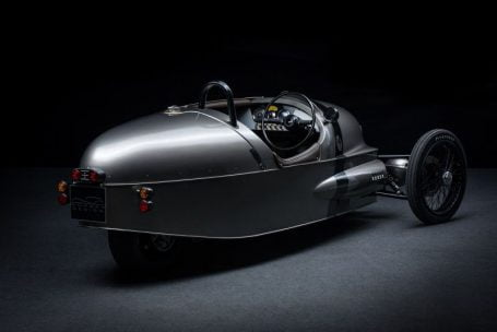 Morgan EV3. Un roadster electric ieşit din comun