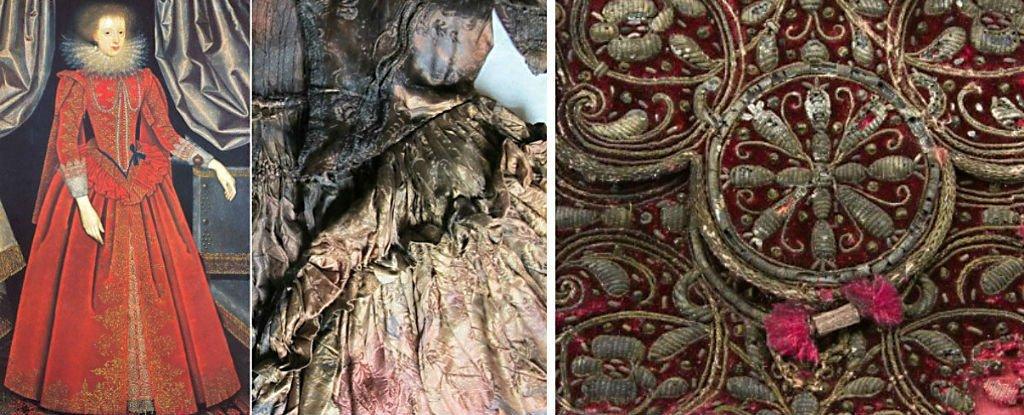 O rochie descoperită pe fundul mării face furori în lumea ştiinţifică rochia-de-la-Rijks-Museum