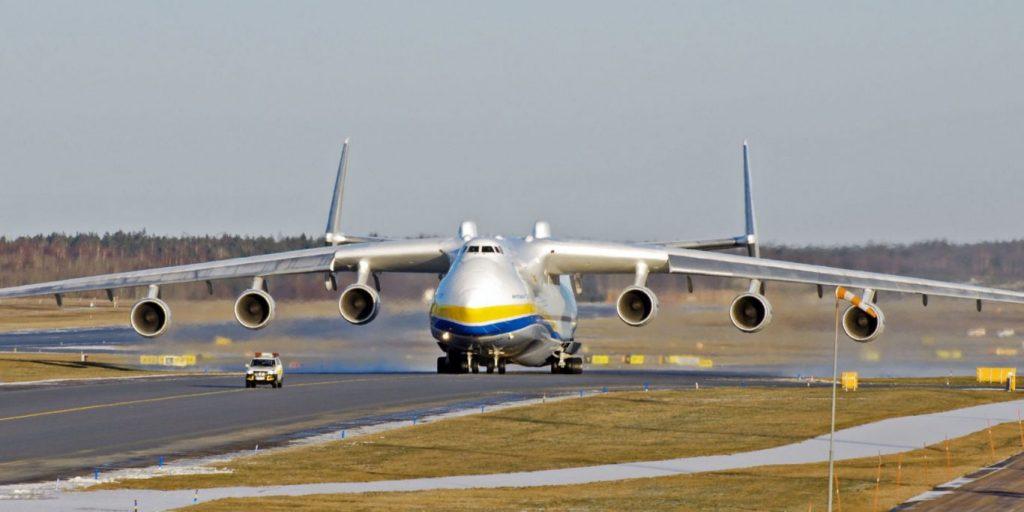 Cel mai mare avion din lume, misiune istorică