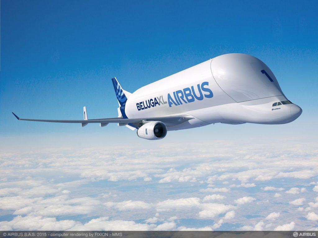 Cum arată Airbus Beluga, cea mai mare aeronavă cargo din lume