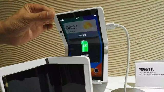 Telefonul flexibil oppo-640