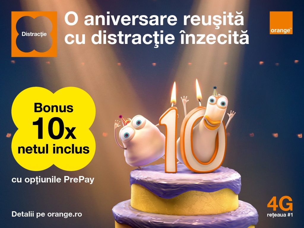 Aniversare Millidge si Doig_Orange PrePay