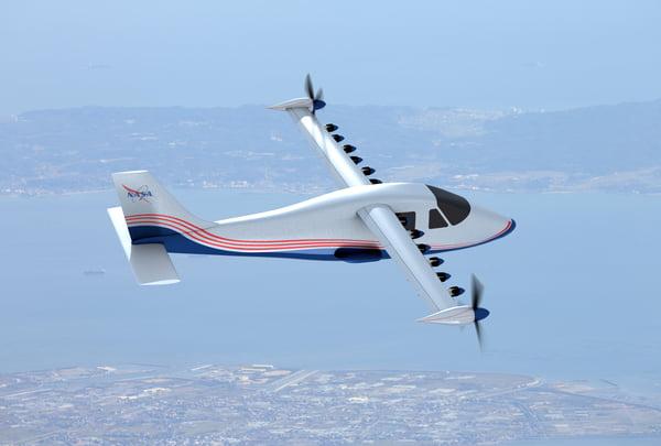NASA X-57 Maxwell. Primul avion cu propulsie electrică