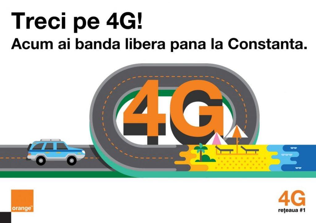 acoperirea 4G Orange