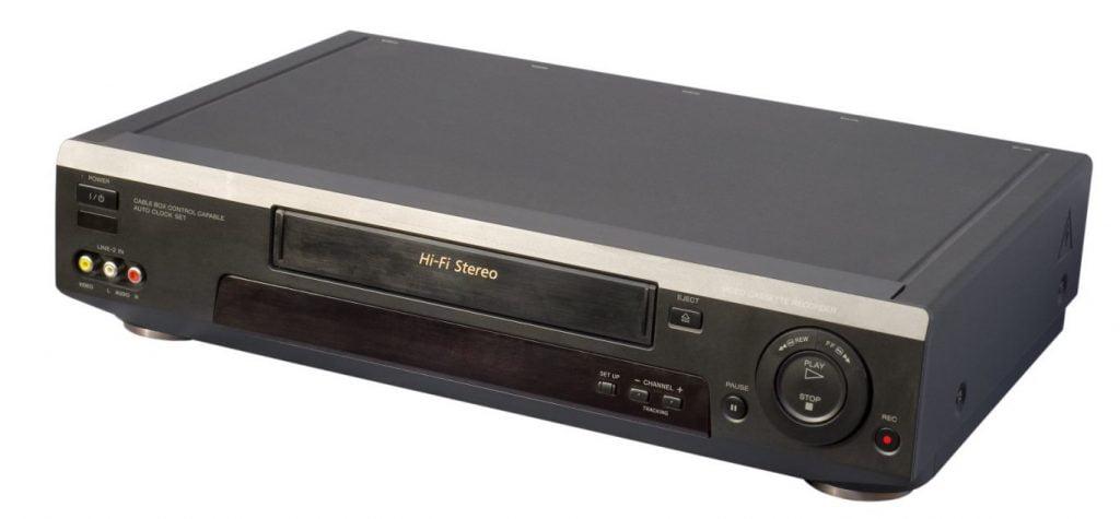 Aparatele video VCR dispar, oficial, de pe piaţă