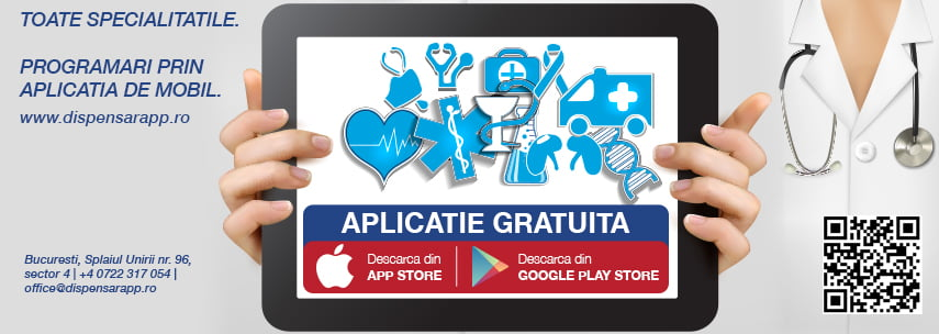 dispensar Dispensar-prima-aplicație-gratuită-de-mobil-pentru-programări-medicale
