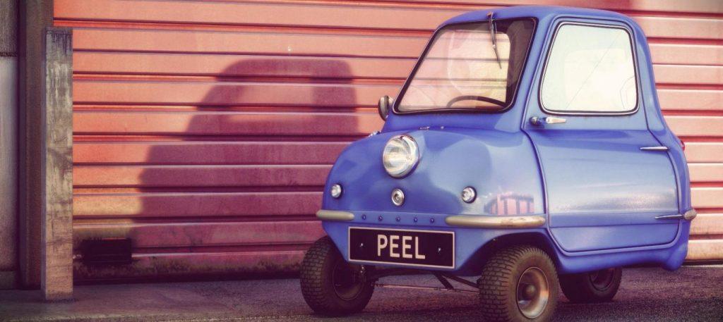 Peel P50. Cum arată cea mai mică maşină din lume