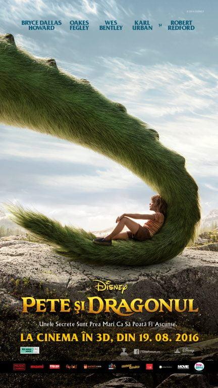 """Filmul """"Pete şi dragonul"""" debutează în cinematografe"""
