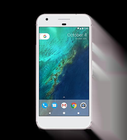 Google Pixel google_pixel_front_white_LEAK_100216